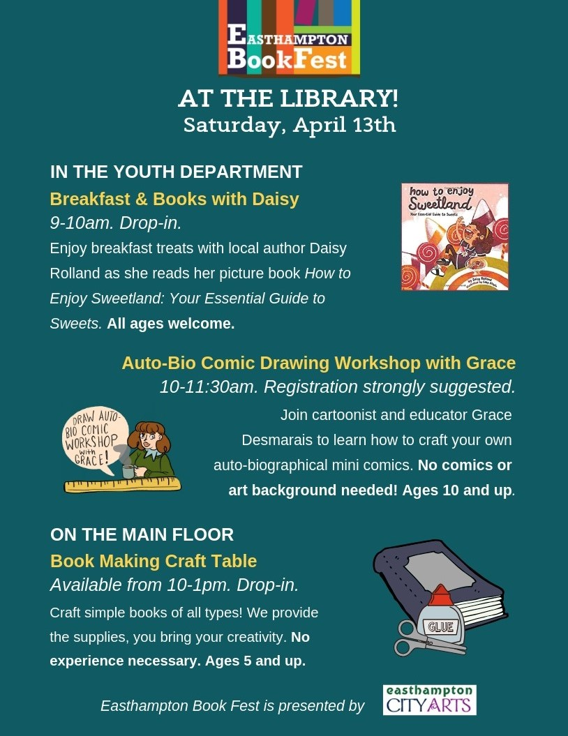 Book Fest at the Library!   Easthampton City Arts