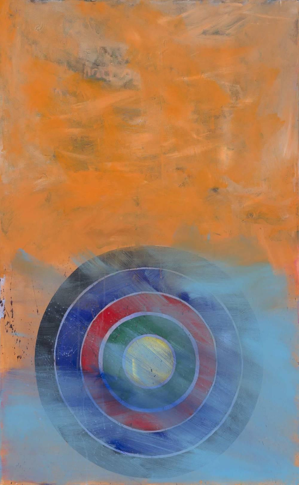 Big Orange, 2016, acrylic on canvas, 48″x30″-co_1-min-min