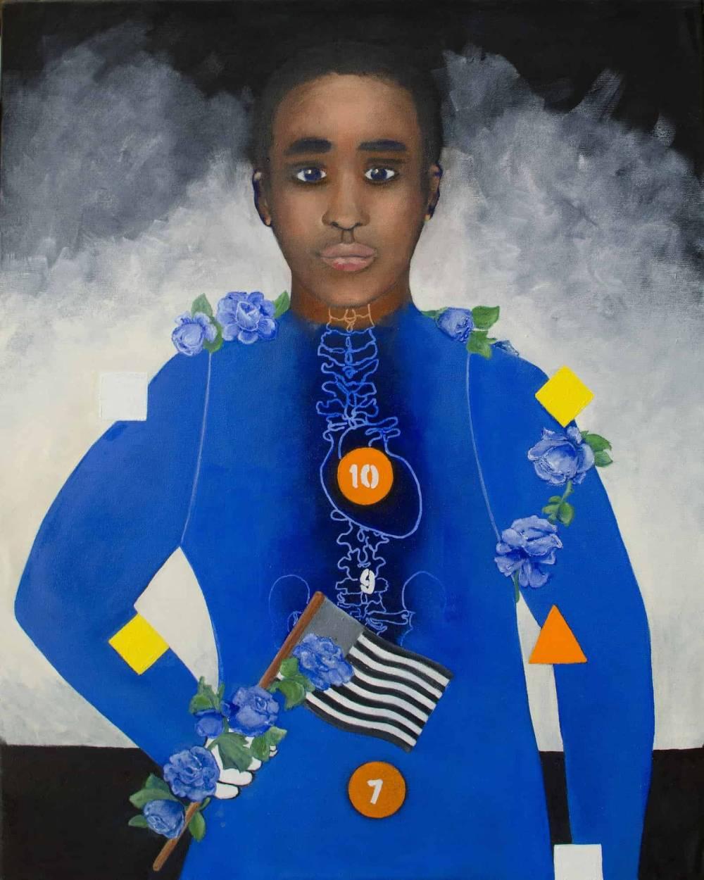 Society's Child, oil on canvas, 32″x24″-min-min